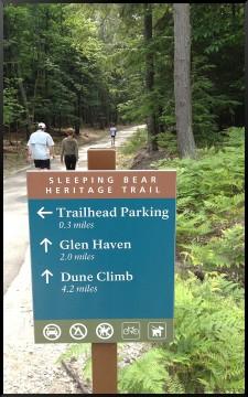 Sleeping Bear Dunes Heritage Trail