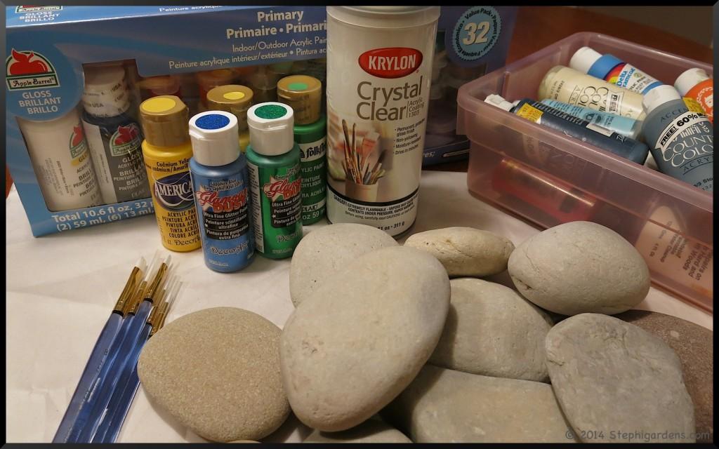 Rock Garden Markers
