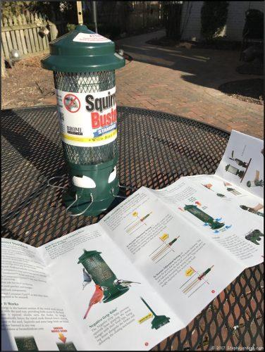 Brome 1057 Squirrel Buster Standard Wild Bird Feeder